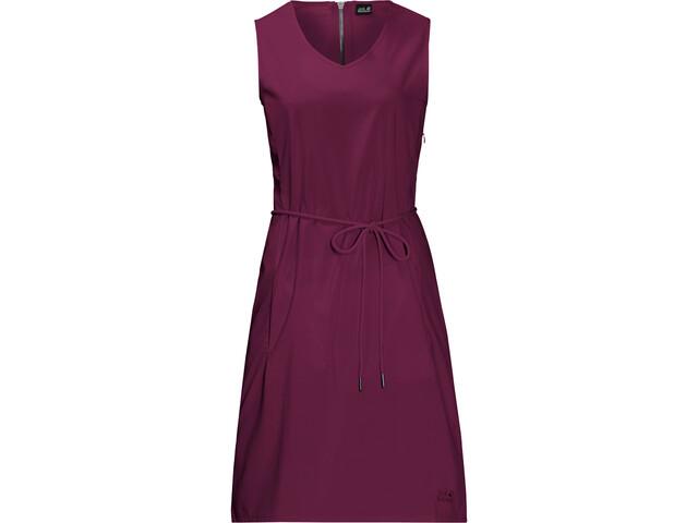 Jack Wolfskin Tioga Road Dress Damen wild berry